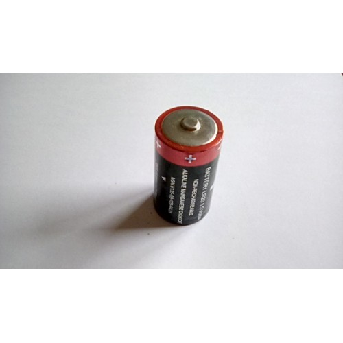 GENUINE ISSUE MILITARY 1.5V BATTERY  AMD LR20 NON RECHARGEABLE